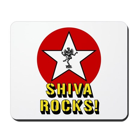 Shiva Rocks Mousepad