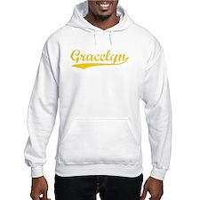 Vintage Gracelyn (Orange) Hoodie Sweatshirt