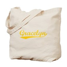 Vintage Gracelyn (Orange) Tote Bag