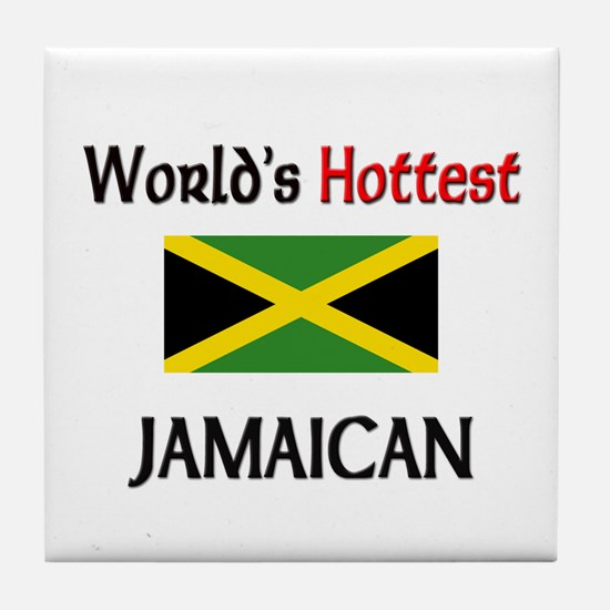 World's Hottest Jamaican Tile Coaster