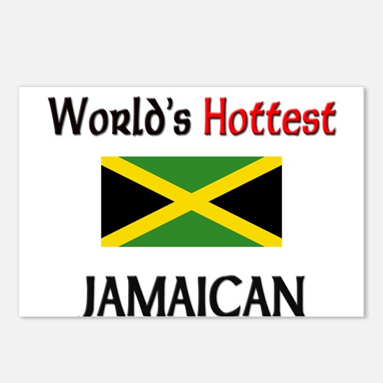 World's Hottest Jamaican Postcards (Package of 8)