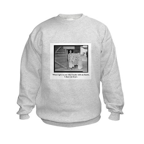 Sewing - From My Hands, My He Kids Sweatshirt