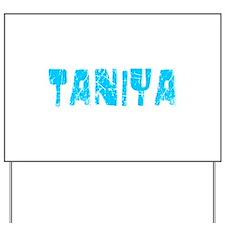 Taniya Faded (Blue) Yard Sign