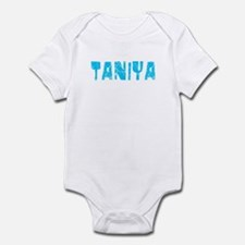 Taniya Faded (Blue) Infant Bodysuit