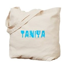 Taniya Faded (Blue) Tote Bag