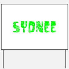 Sydnee Faded (Green) Yard Sign