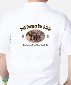 Pink Snapper Bar & Grill Golf Shirt