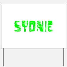 Sydnie Faded (Green) Yard Sign