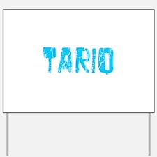Tariq Faded (Blue) Yard Sign
