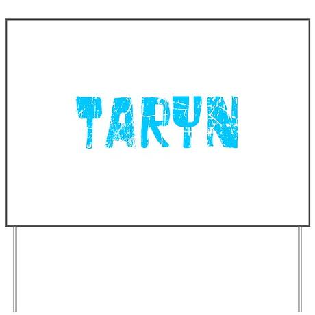 Taryn Faded (Blue) Yard Sign
