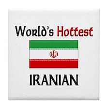 World's Hottest Iranian Tile Coaster