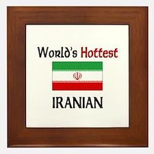 World's Hottest Iranian Framed Tile