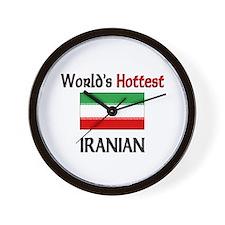 World's Hottest Iranian Wall Clock