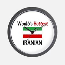 World's Hottest Iranian Wall Clock