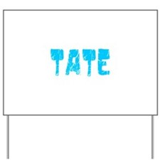 Tate Faded (Blue) Yard Sign