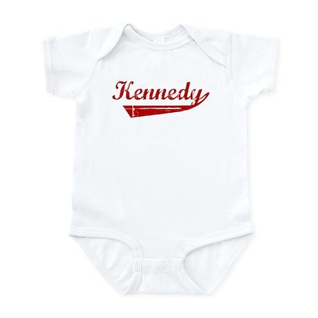 Kennedy (red vintage) Infant Bodysuit