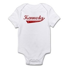 Kennedy (red vintage) Infant Bodysuit