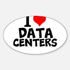 I Love Data Centers Decal