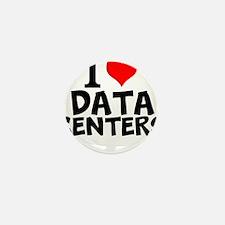 I Love Data Centers Mini Button