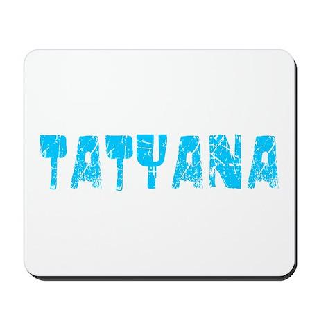 Tatyana Faded (Blue) Mousepad