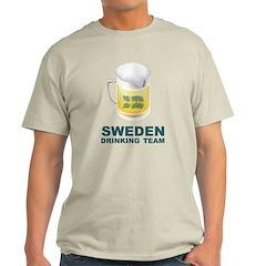 Sweden Drinking Team T-Shirt