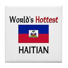 World's Hottest Haitian Tile Coaster