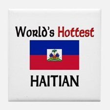 World's Hottest Haitian Tile Coaster