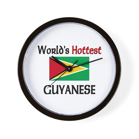 World's Hottest Guyanese Wall Clock