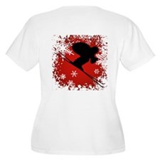 SKI DOWNHILL (RED) T-Shirt