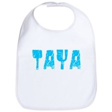 Taya Faded (Blue) Bib
