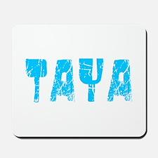 Taya Faded (Blue) Mousepad