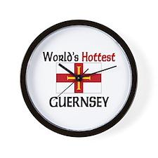 World's Hottest Guernsey Wall Clock