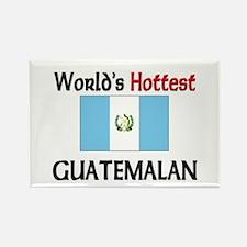World's Hottest Guatemalan Rectangle Magnet