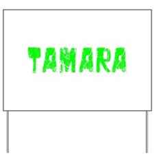 Tamara Faded (Green) Yard Sign