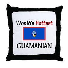 World's Hottest Guamanian Throw Pillow