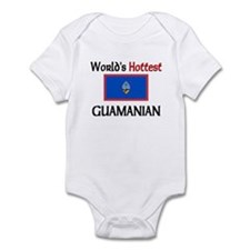 World's Hottest Guamanian Infant Bodysuit