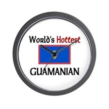 World's Hottest Guamanian Wall Clock