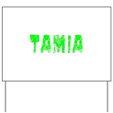 Tamia Faded (Green) Yard Sign