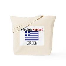 World's Hottest Greek Tote Bag