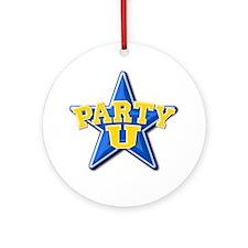 """Party U/BlueStar"" Keepsake (Round)"
