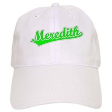Retro Meredith (Green) Baseball Cap