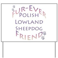 Lowland Sheep Furever Yard Sign