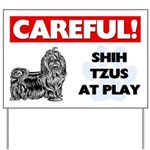 Shih Tzu Yard Sign