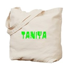Taniya Faded (Green) Tote Bag