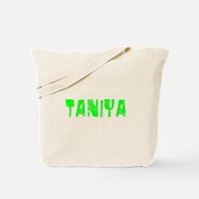 Taniya Faded (Green) Tote Bag