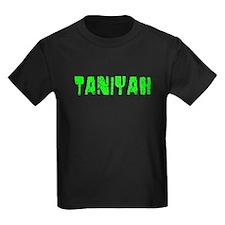 Taniyah Faded (Green) T
