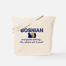 Good Looking Bosnian Tote Bag