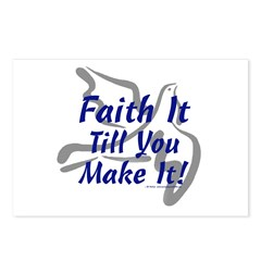 Faith It Till You Make It Postcards (Package of 8)