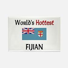 World's Hottest Fijian Rectangle Magnet