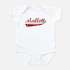 Mallett (red vintage) Infant Bodysuit